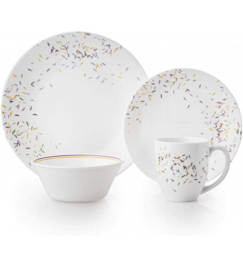 【現貨】 美國康寧 Corelle Livingware Autumn Dance 16-Pc Set(Larger)