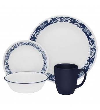 【現貨】 美國康寧 Corelle Livingware True Blue 16-Pc Set